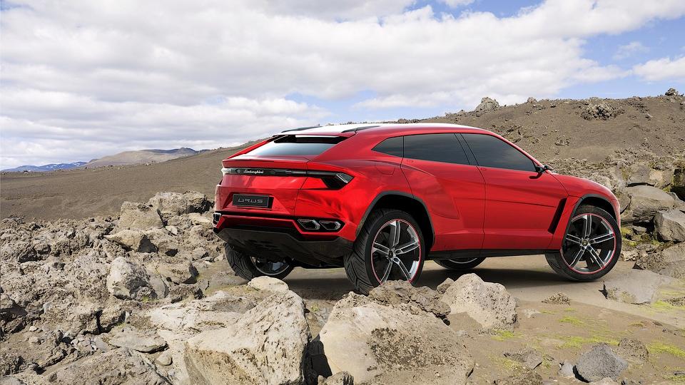 Первый внедорожник Lamborghini получит битурбо «восьмерку»