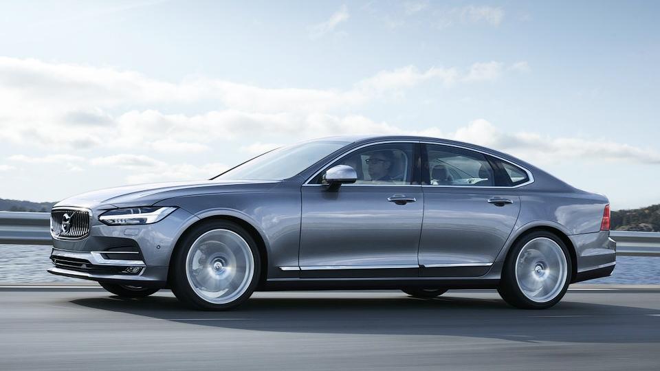 Компания Volvo представила новый флагманский седан