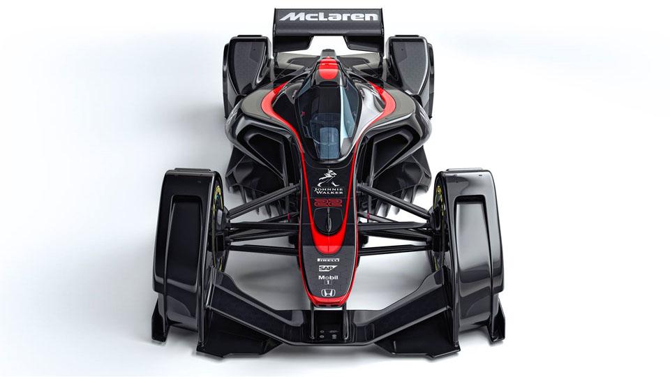 Машину Формулы-1 будущего «научили» превращать воздух в плазму