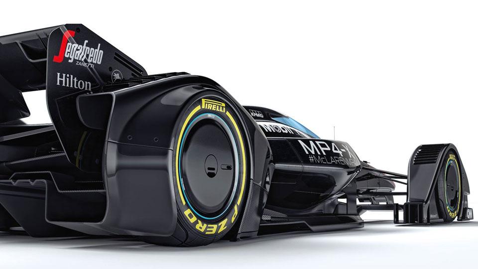 Машину Формулы-1 будущего «научили» превращать воздух в плазму. Фото 5