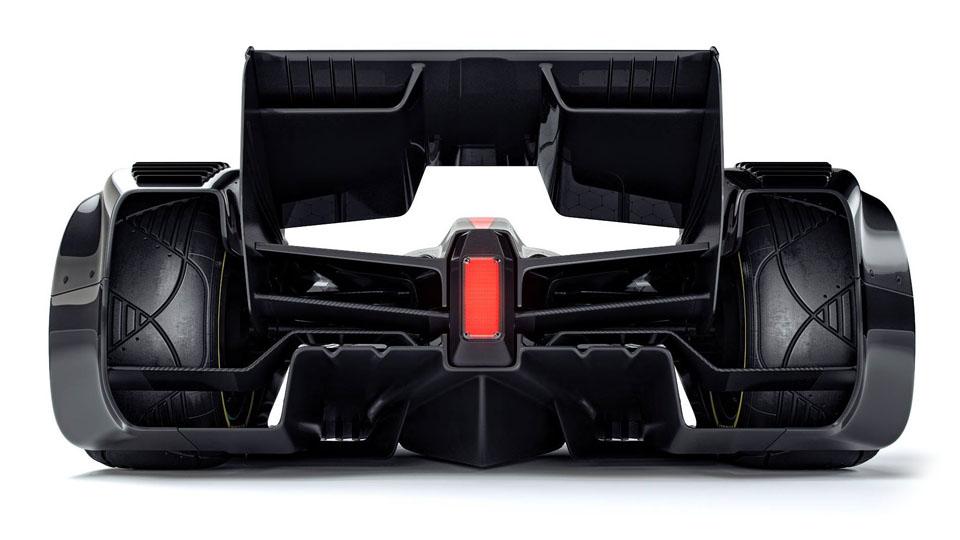 Машину Формулы-1 будущего «научили» превращать воздух в плазму. Фото 6