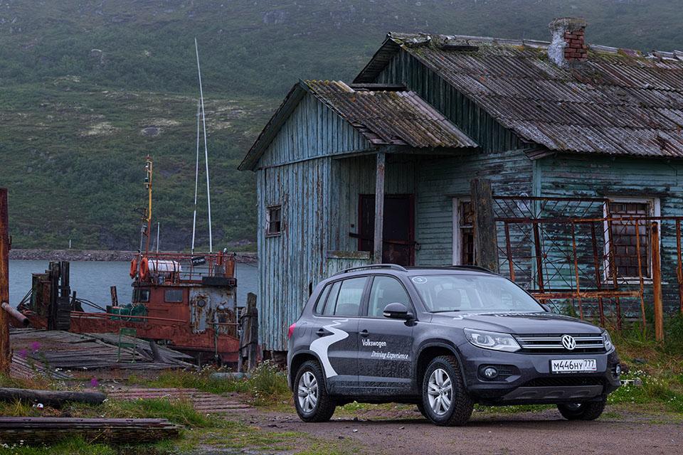 VW Tiguan на Кольском полуострове: Териберка из «Левиафана» и гриб-майор из ФСБ. Фото 5