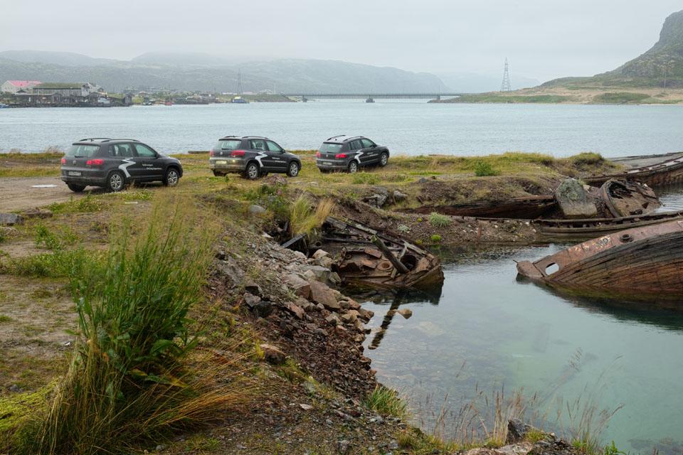 VW Tiguan на Кольском полуострове: Териберка из «Левиафана» и гриб-майор из ФСБ. Фото 6