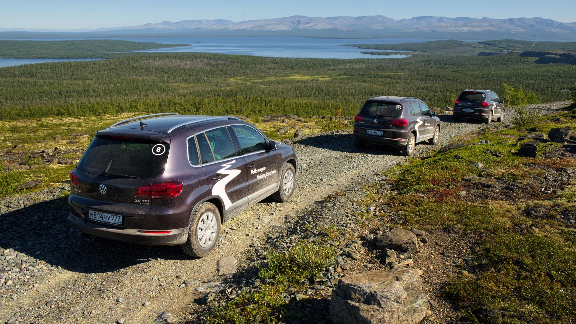 VW Tiguan на Кольском полуострове: Териберка из «Левиафана» и гриб-майор из ФСБ. Фото 3