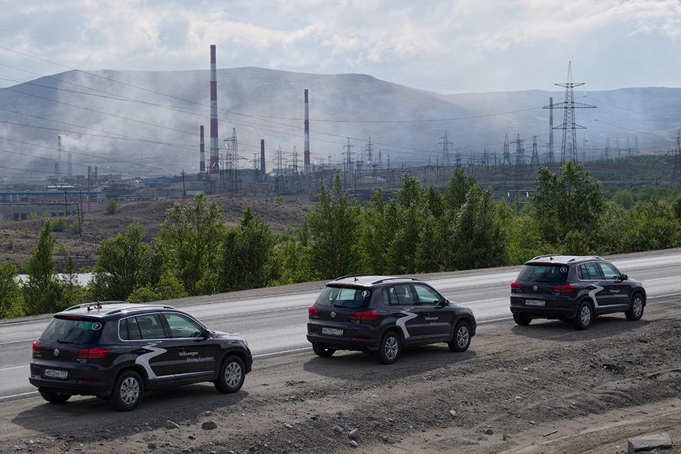 VW Tiguan на Кольском полуострове: Териберка из «Левиафана» и гриб-майор из ФСБ. Фото 13