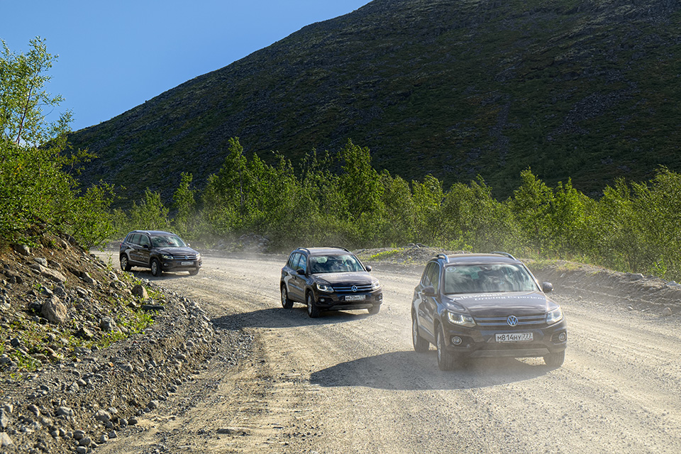 VW Tiguan на Кольском полуострове: Териберка из «Левиафана» и гриб-майор из ФСБ. Фото 1