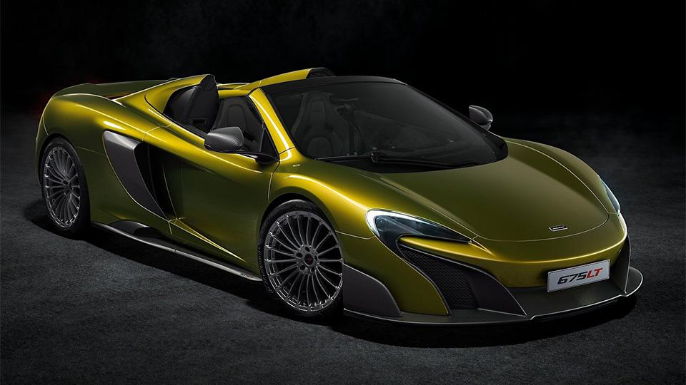 Представлен мощнейший родстер McLaren