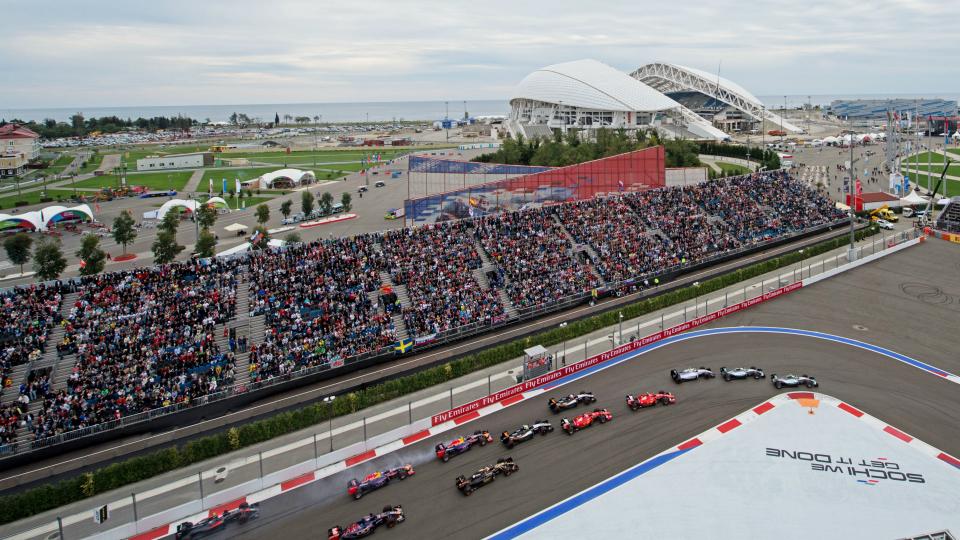 Билеты на Гран-при России подешевели на две тысячи рублей