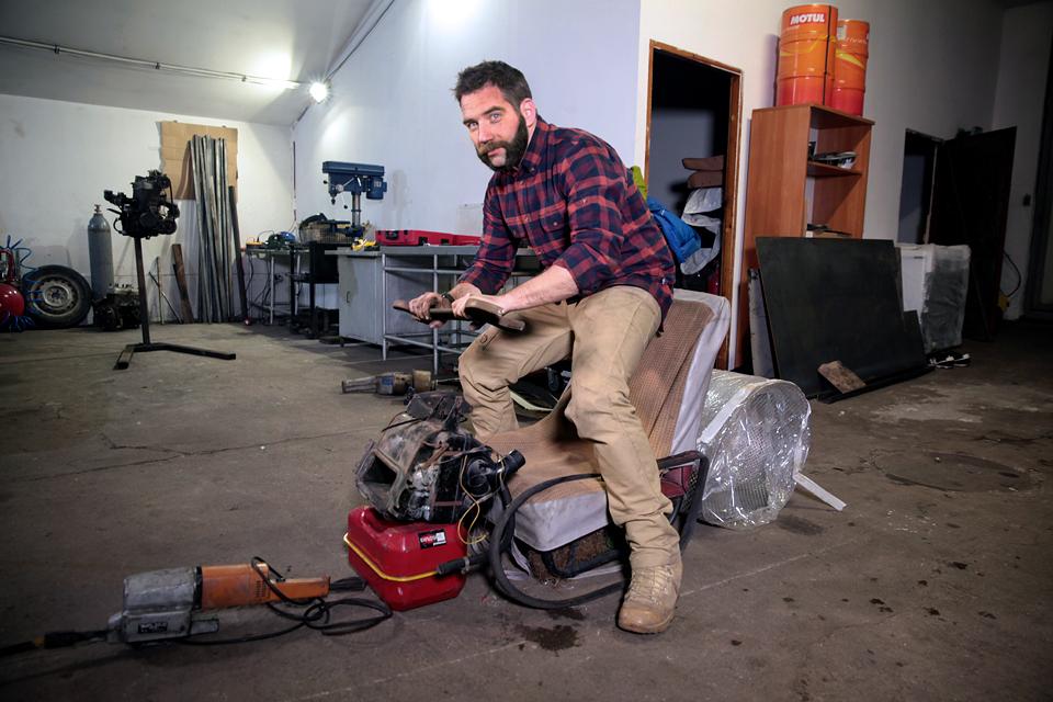 Одержимый моторами Джимми де Вилль о том, чем чревата его одержимость. Фото 1