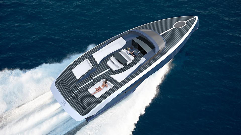 Лодку назовут в честь дочери Этторе Бугатти