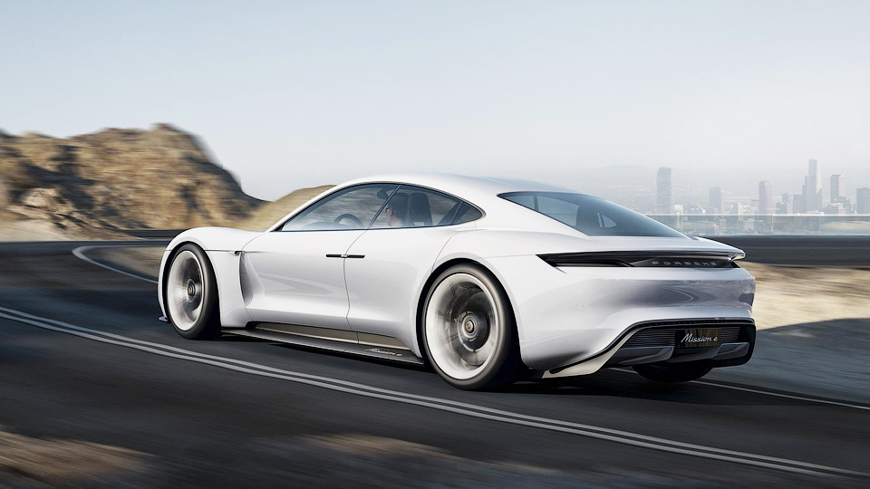 Компания Porsche подтвердила запуск электрического суперкара