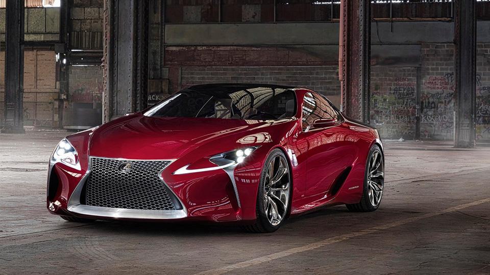 Названа дата дебюта нового спорткара Lexus