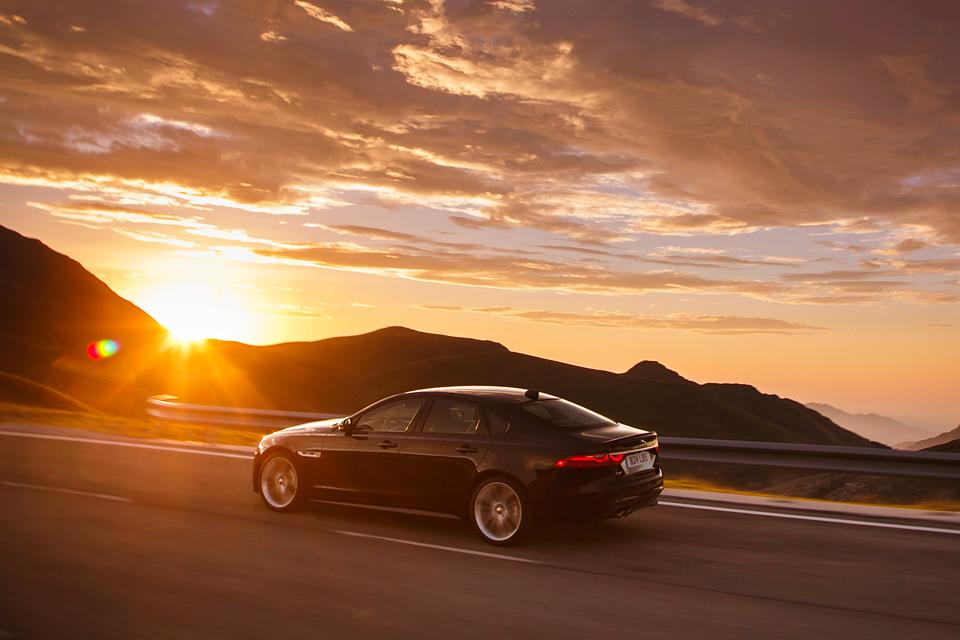 Тест нового Jaguar XF. Если сможете отличить его от старого. Фото 7