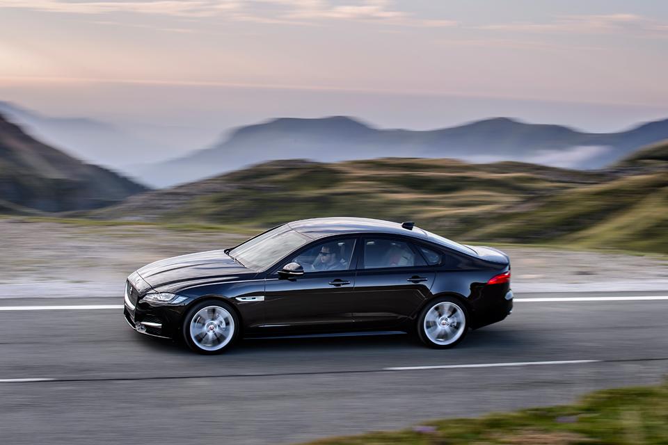 Тест нового Jaguar XF. Если сможете отличить его от старого. Фото 6