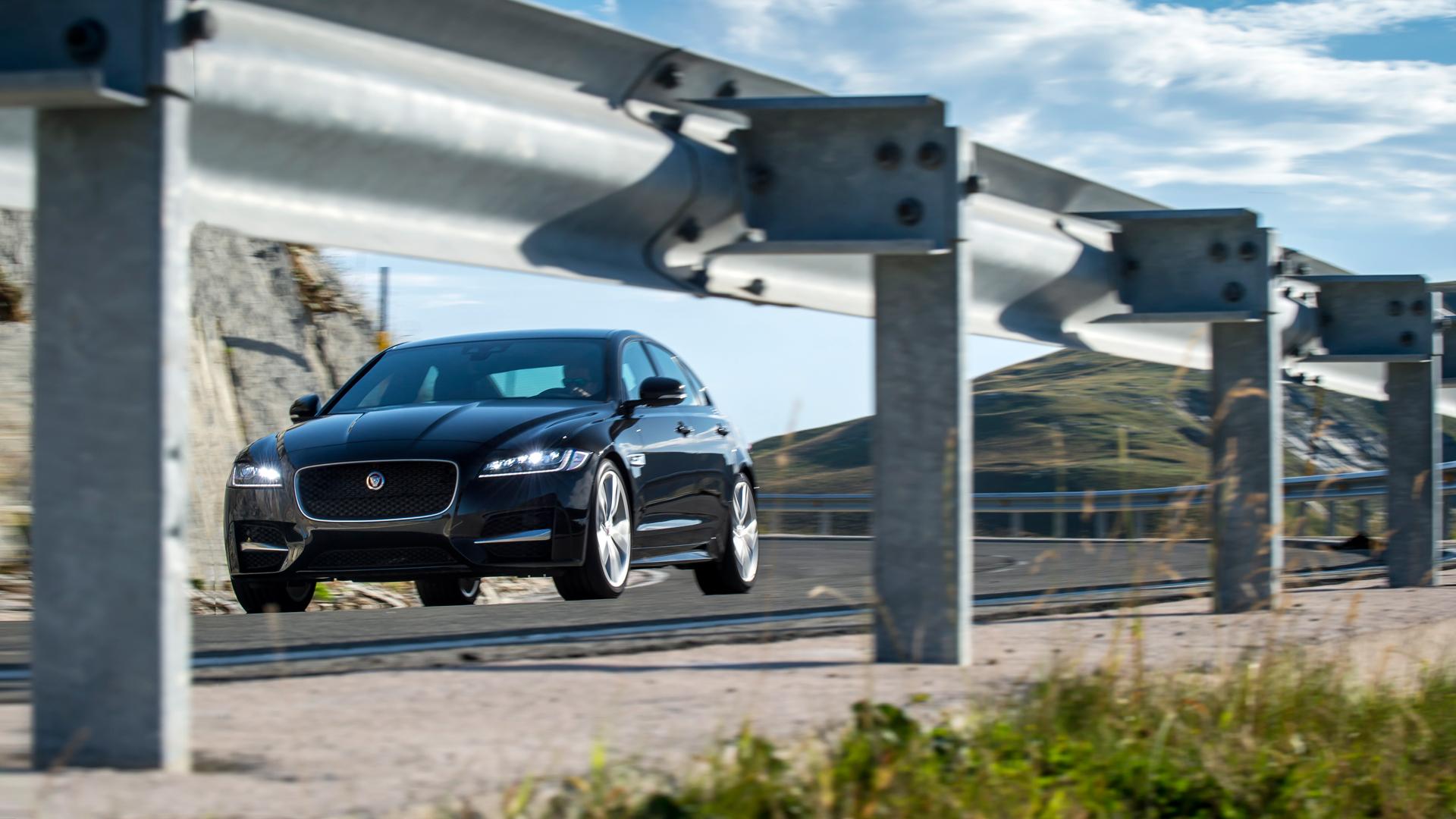 Тест нового Jaguar XF. Если сможете отличить его от старого. Фото 3