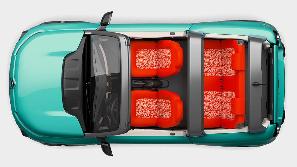 Французы представили модель E-Mehari. Фото 2