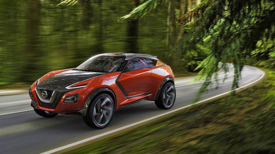 Новый Nissan Juke позаимствует у хэтчбека Leaf электромотор