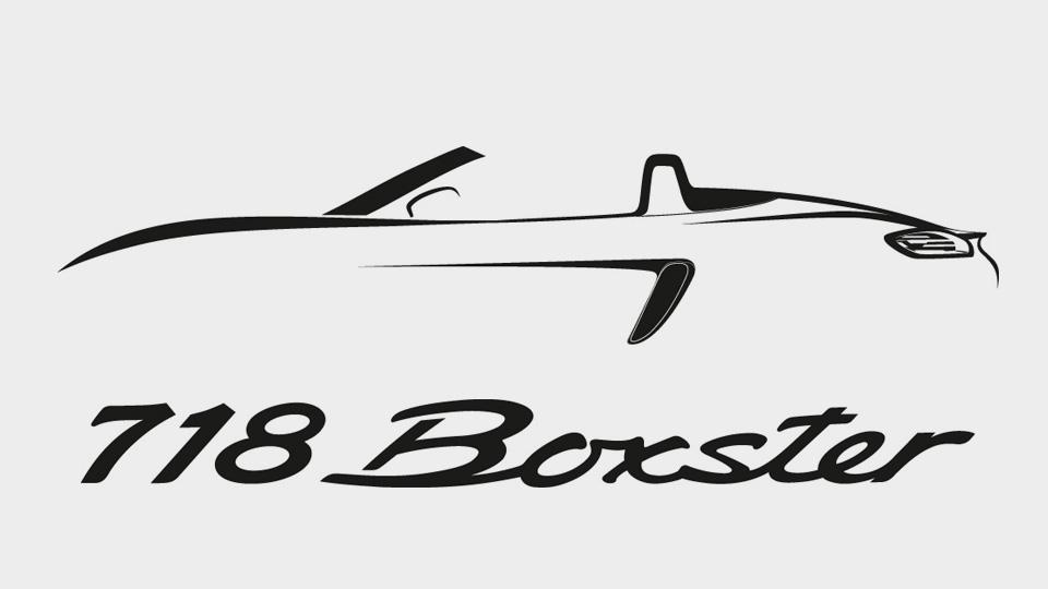 Спорткары Porsche будут называться 718 Boxster и 718 Cayman