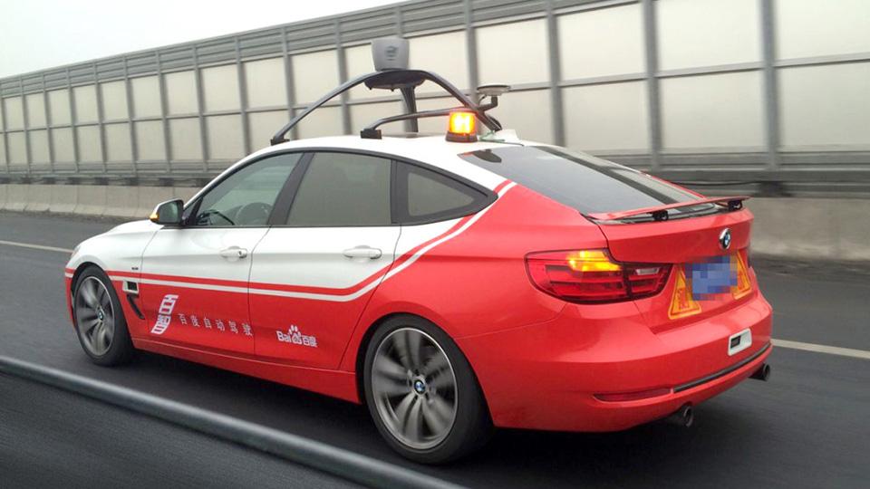 Компания Baidu оснастила BMW 3-Series GT системой автономного управления