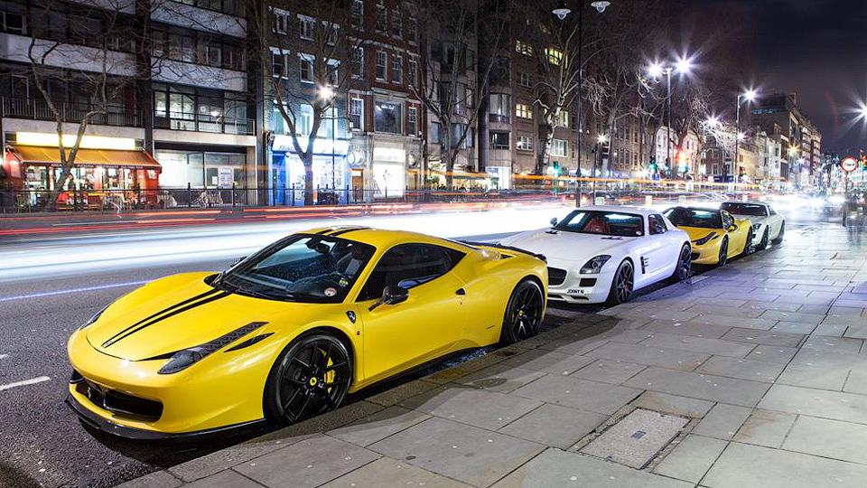 В Великобритании суперкарам запретили шуметь