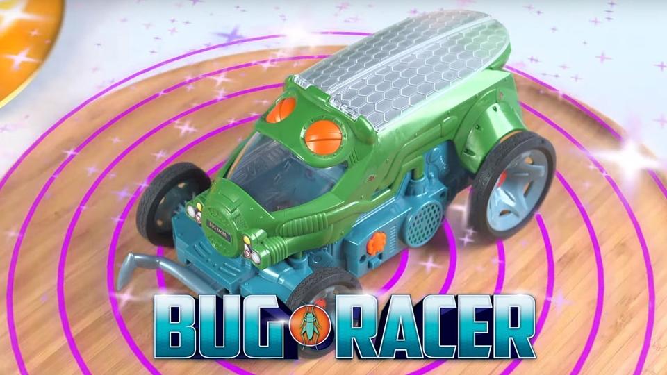 Компания Mattel придумала управляемую жуком игрушечную машинку