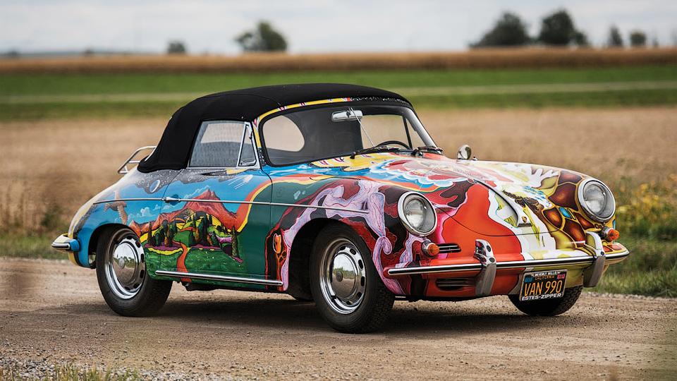Кабриолет Porsche Дженис Джоплин ушел с молотка