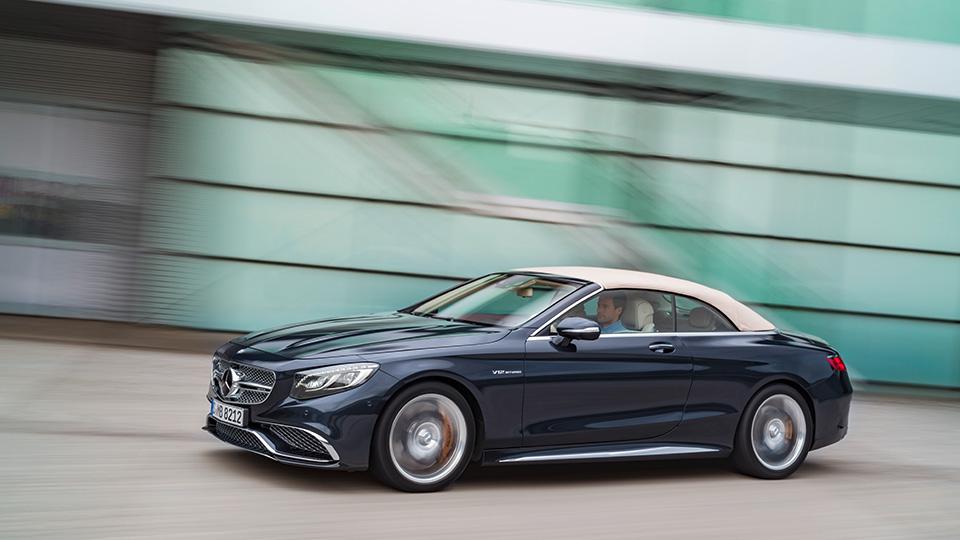 Самый большой кабриолет Mercedes-Benz оснастили мотором V12