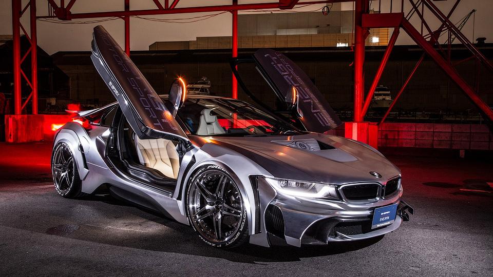 Японский тюнер построил хромированный BMW i8