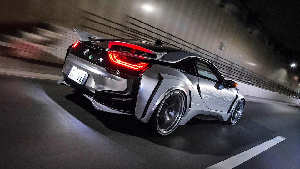 Ателье Energy Motor Sport подготовило агрессивный вариант спортгибрида