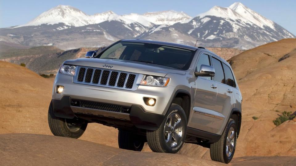 В России отзовут 6,6 тысячи внедорожников Jeep Grand Cherokee