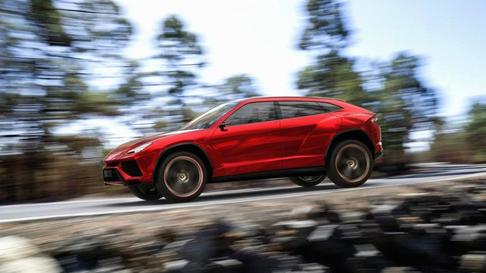 У вседорожника Lamborghini появится гибридная версия