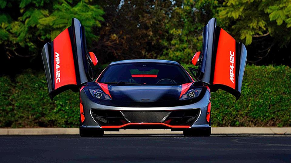 Уникальный суперкар McLaren продадут за 1,6 миллиона долларов