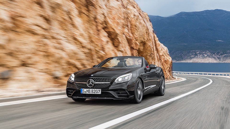 Самый маленький родстер Mercedes-Benz обновился и получил название SLC. Фото 2