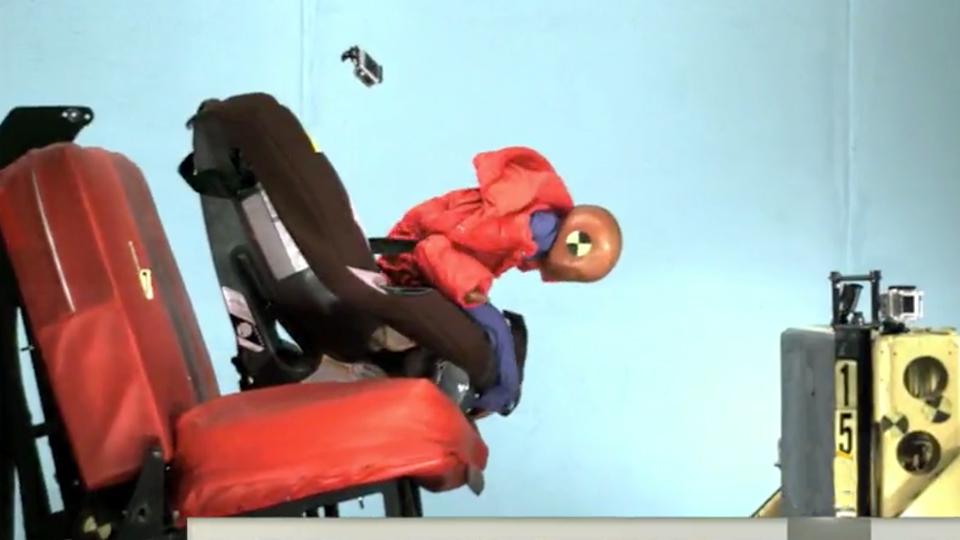 Американцы показали опасность курток в ДТП с участием детей