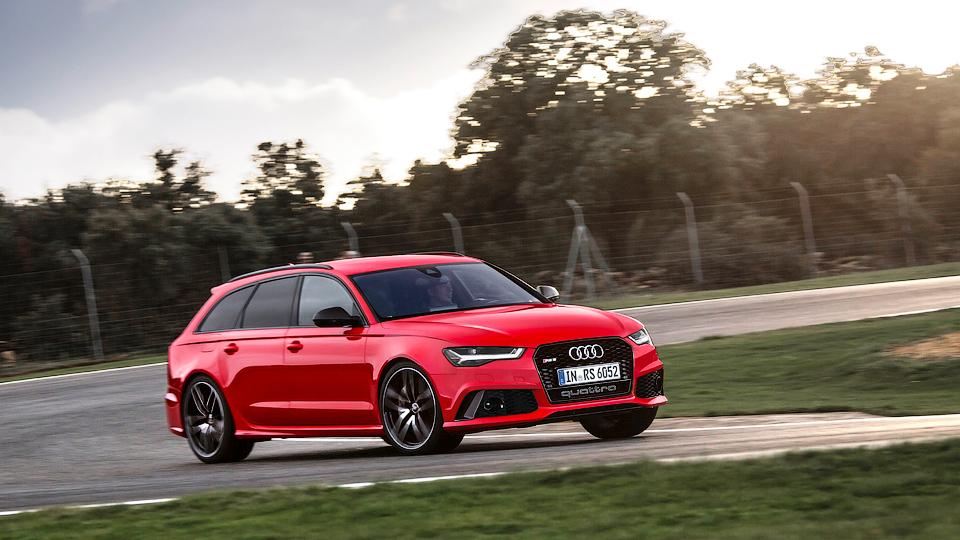 Audi скрестит «заряженный» универсал и вседорожник