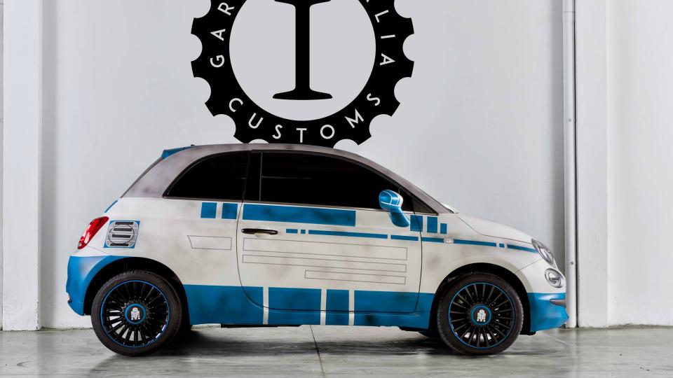 Fiat 500 переделали в героев «Звездных войн»