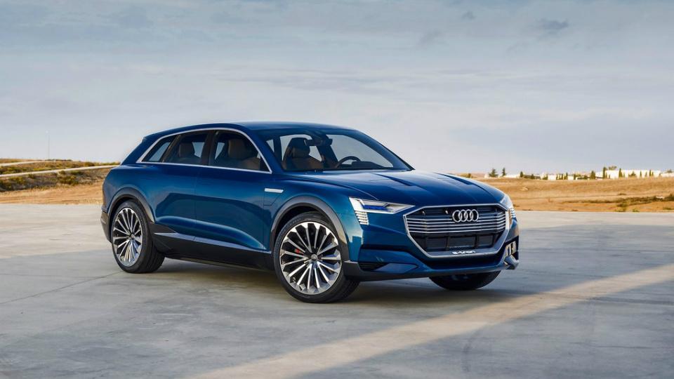 Audi привезет в Детройт водородный кроссовер