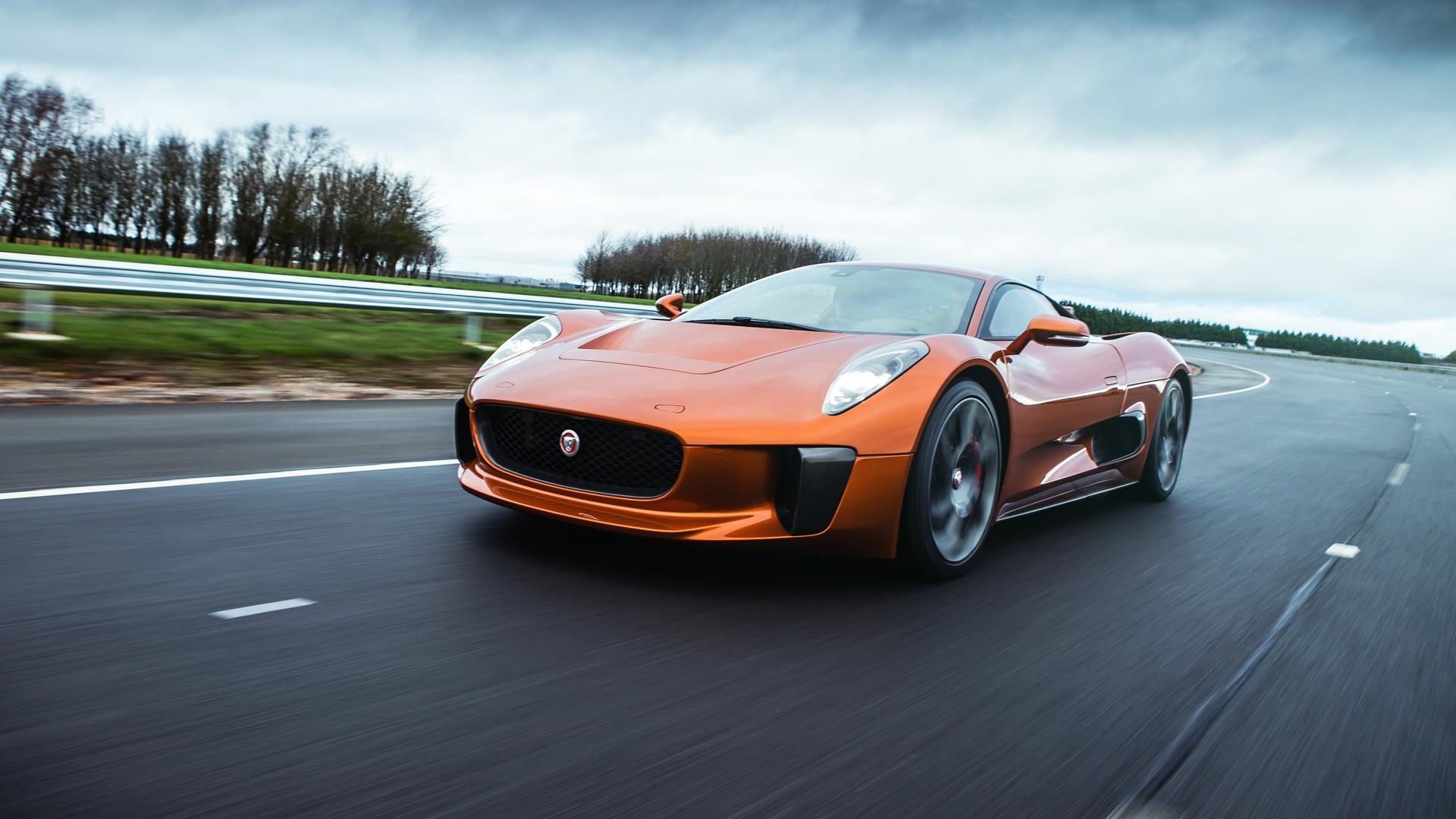 """Тест злодейского Jaguar C-X75 из """"Агента 007: Спектр"""", который так и не попал в серию. Фото 6"""