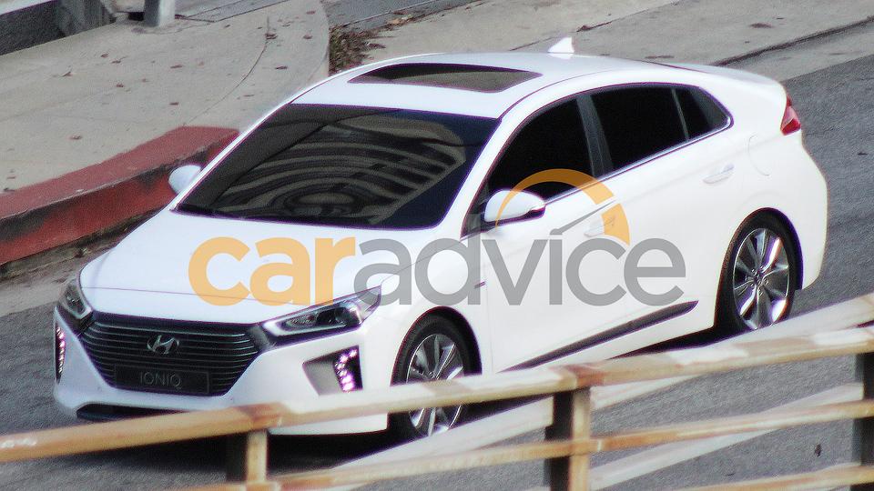 Шпионы раскрыли внешность новой экомодели Hyundai