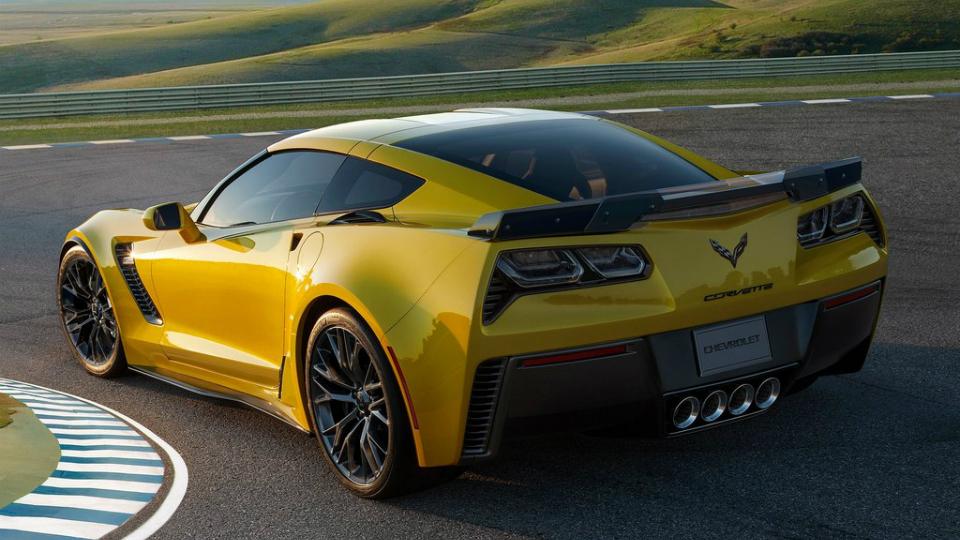 Компания Chevrolet запатентовала гибридный Corvette