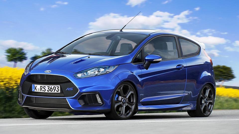 Немцы узнали год выхода RS-версии Ford Fiesta