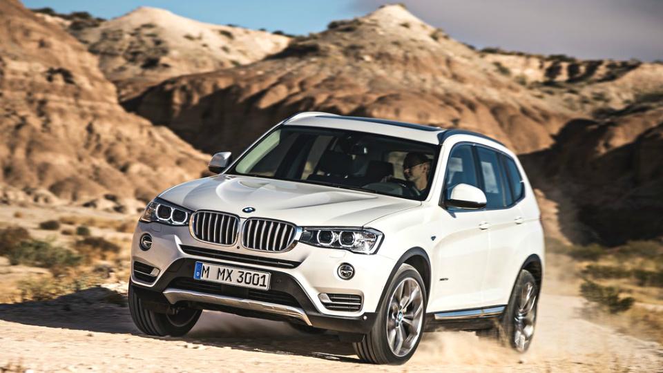 Немецкие СМИ рассказали о BMW X3 нового поколения
