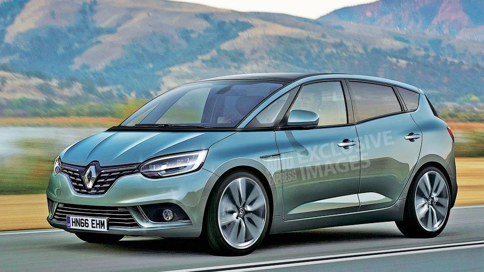 Новый Renault Scenic сделают похожим на кроссовер