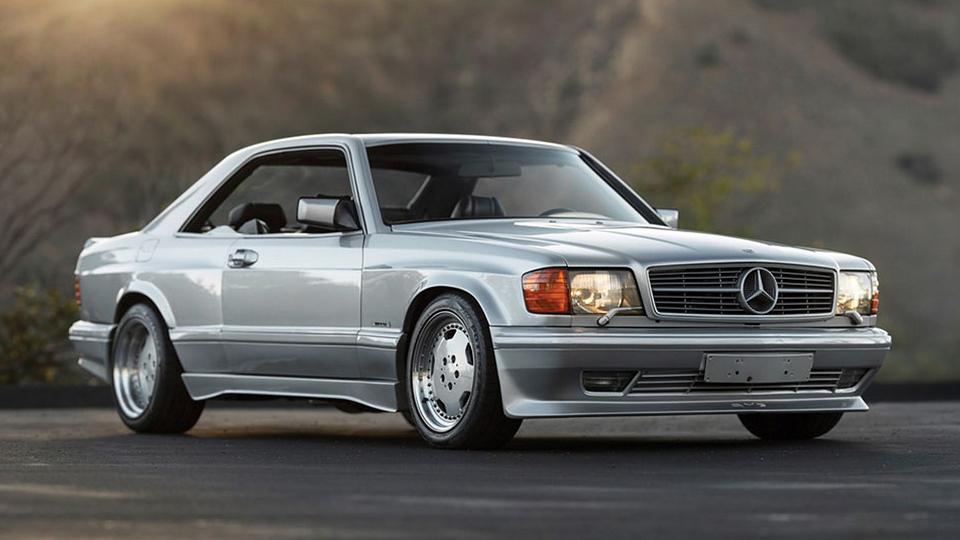 Редкий Mercedes-Benz с тюнингом от AMG продадут на аукционе