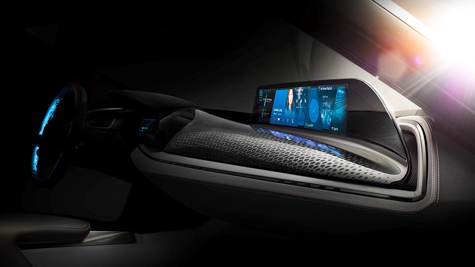 Компания BMW создала интерьер автомобилей будущего
