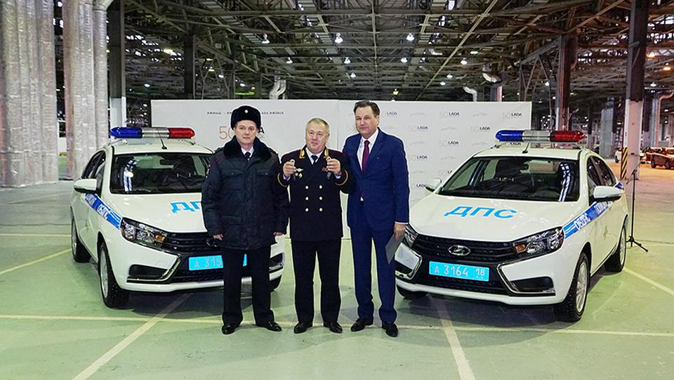 Lada Vesta стала полицейской машиной