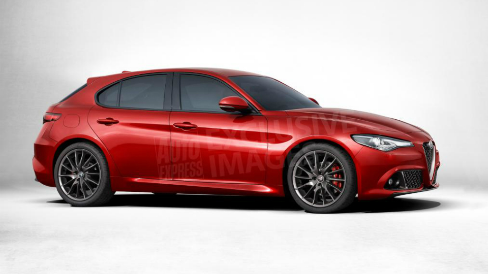 Заднеприводный хэтчбек Alfa Romeo появится в 2017 году