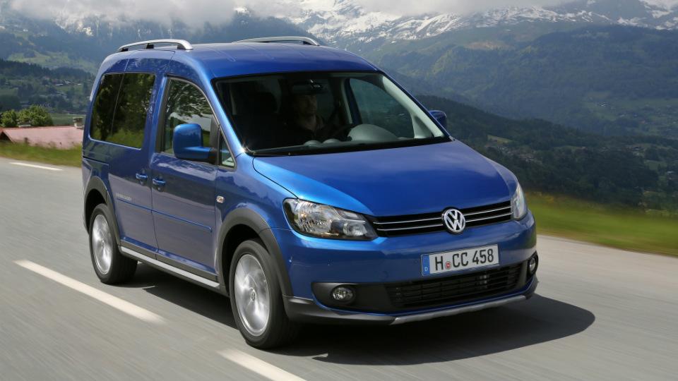 Volkswagen отзовет 2,2 тысячи фургонов Caddy в России