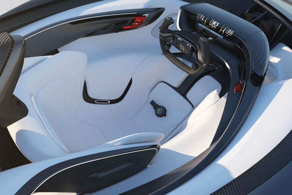 Концепт-кар FFZERO1 получил четыре электромотора. Фото 1