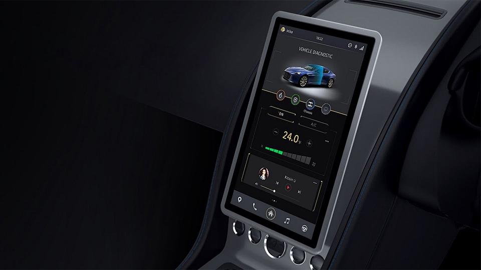 Aston Martin представил интерьер будущих спорткаров